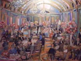 THE CLARK'S 30TH WEDDING VOW RENEWAL  Langham Pasadena Ca.  30″ x 40″ 8-8-15