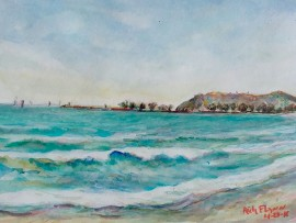 CAPO BEACH Dana Point Ca. 11″ x 16″ 4-28-16