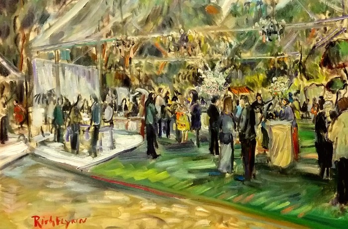 Details Defined Event  Rancho Santa fe Ca. oil 24″ x 30″ 4-4-16