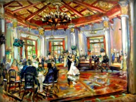 The Ramsey Laurita Wedding  El Cortez San Diego Ca. 30″ x 40″ 8-1-15