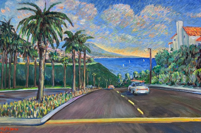 ROAD TO HARBOR 2      COMMISSIONED   24″ X 36″  OIL   9-3-2020   SOLD
