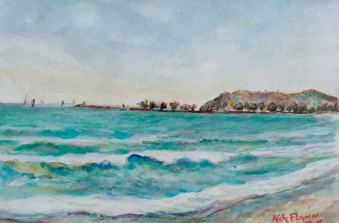 CAPO BEACH Dana Point Ca. 11″ x 16″ 4-28-16
