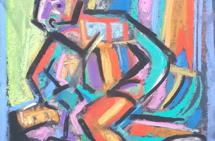 CONTROL  Pastel  12″ x 16″  8-11-16