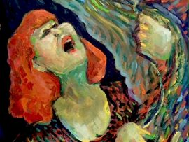 La Luce  watercolor   14″ x 16″ 1-2-17  HAPPY NEW YEAR