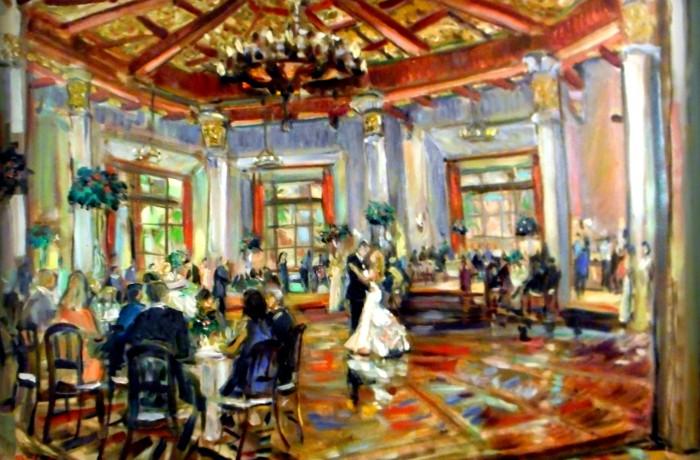 The Ramsey Laurita Wedding  El Cortez San Diego Ca. 30″ x 40″ 8-1-15